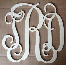 monogramed letters wooden monogram letters wooden monogram initials script wooden