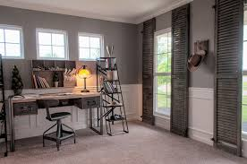 Desk Carpet Country Home Office With High Ceiling U0026 Wainscoting Zillow Digs