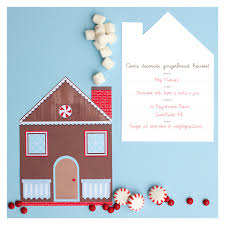 Design Your Own New Home Cards One Charming Party Birthday Party Ideas U203a Gingerbread House