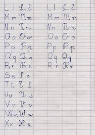 lettere straniere in corsivo maiuscolo e minuscolo apedario alfabetieri per tutti