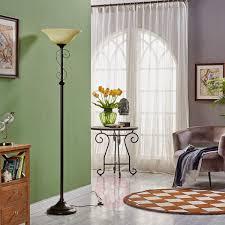 floor lamp svera country house style rust finish lampenwelt