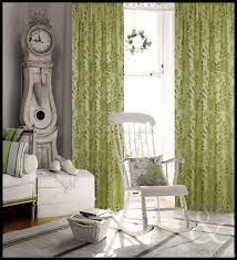 Green Eclipse Curtains Amazon Com Interdesign Leaves Fabric Shower Curtain Stall X Green