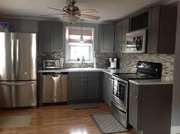 Grey Shaker Kitchen Cabinets Modern Kitchen Philadelphia - Kitchen cabinets store