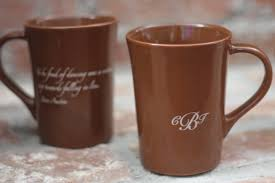 personalized mugs for wedding custom coffee cup wedding favors 1628 et as low as 2 79 each