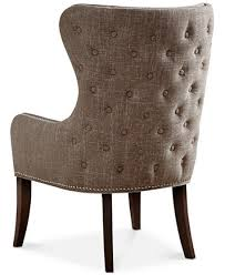 Tufted Accent Chair Hancock Button Tufted Accent Chair Ship Furniture Macy S