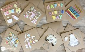fun and thoughtful birthday cards to diy
