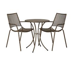 Large Bistro Table And Chairs Furniture Lewis Ala Mesh Table Chairs Bistro Set Gorgeous