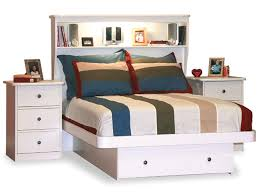 full size bookcase headboard best full size white storage bed with bookcase headboard 76 for