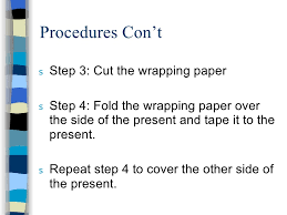 How To Gift Wrap A Present - gift wrap