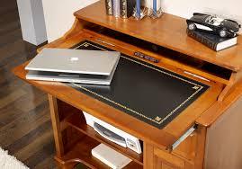 meuble bureau ordinateur petit bureau informatique elise en merisier de style louis philippe