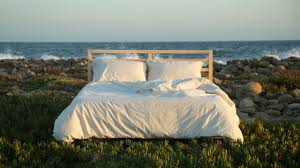 these sheets are made with just three things cotton rainwater and w