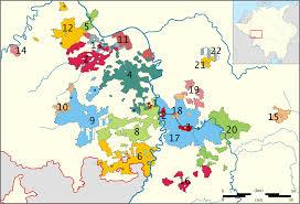 Kaiserslautern Germany Map by Electoral Palatinate Wikipedia