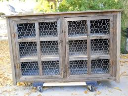 Barnwood Kitchen Cabinets Hand Made Large Barnwood Pie Cabinet With Chicken Wire By