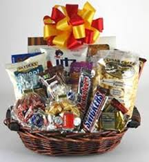 junk food basket candy snack junk food gift baskets gifty baskets flowers