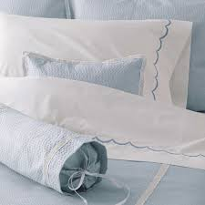 matouk plisse bedding collection the picket fence