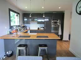 cuisine gris laque cuisine gris laque cuisine gris et bois moderne grise deco taupe