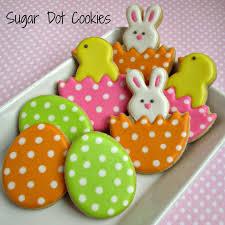 easter sugar eggs sugar dot cookies easter sugar cookies