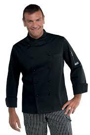 tenue de cuisine homme veste de cuisinier coupe slim vêtements de cuisine