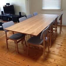 Best Timber Dining Room Furniture Images On Pinterest Dining - Timber kitchen table
