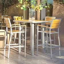Outdoor Bistro Table Bar Height Best Scheme Outdoor Furniture San Antonio All Home Design Bar