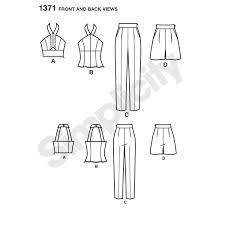 misses u0027 sportswear cynthia rowley collection simplicity