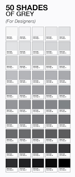 shades of gray names le 50 sfumature di grigio esistono davvero 50 shades gray and 50th