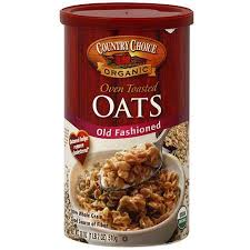 country choice organic old fashioned oven toasted oats 18 oz