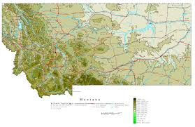 Map Of Montana Cities And Towns by Detailed Map Of Montana Montana Map