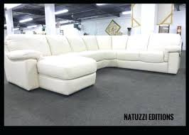 White Leather Sleeper Sofa Natuzzi Leather Sofa B845 Natuzzi Editions Trieste Iii Leather