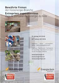 bewährte firmen by energie bois suisse issuu