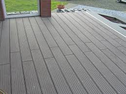 recycled plastic deck boards grooved water repellent