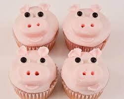 beki cook u0027s cake blog easy homemade piggie cupcakes