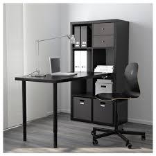 Office Desk Legs by Kallax Workstation White Ikea