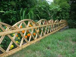 awesome picture of ideas for garden fences catchy homes interior