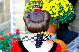 queen of hearts halloween makeup red queen queen of hearts halloween hairstyles cute girls