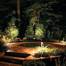 Landscape Led Lights Paradise Landscape Lights A Custom Outdoor Spa By Day Transforms