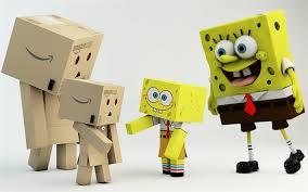 wallpaper danbo couple download wallpapers spongebob danbo mother and child cardboard