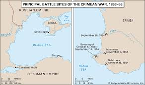 maps crimea russia crimean war map summary combatants causes facts