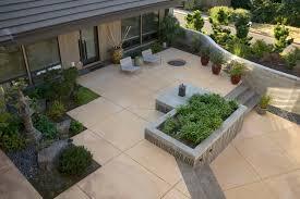 Houzz Patios Square Concrete Patio Houzz