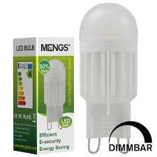 Energy Efficient Led Light Bulbs by G9 5w Led Dimmable Light Smd Leds Led Lamp Bulb In Warm White