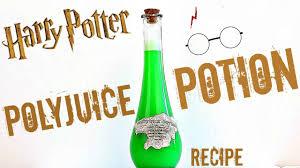 harry potter polyjuice drink potion recipe youtube