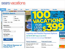 sears offering vacation packages on layaway jun 30 2012