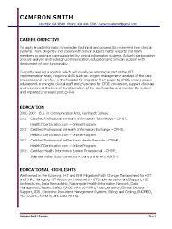Health Information Management Resume Best Healthcare Management Resume In Atlanta Ga Gallery Sample