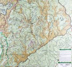 National Geographic Map Trail Map Of Linville Gorge Mt Mitchell Pisgah National Forest