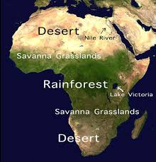 Lake Victoria Africa Map by Geography Of Africa Cake Edition Mclellan Family