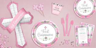 communion party supplies girl s blessed communion party supplies religious party