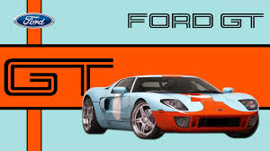 gulf racing logo ford gt in gulf racing livery wallpaper cars wallpaper better