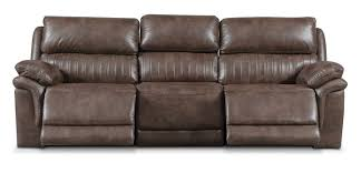 Reclining Sofa With Chaise Lounge by Monterey 3 Piece Power Reclining Sofa Brown Value City Furniture