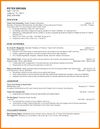 Sample Resume For Ojt Accounting Students by Accounting Student Resume
