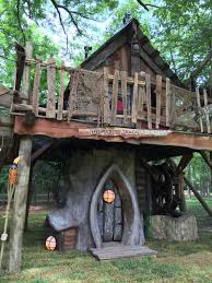 tiny town studios whimsical tree house with pirate touch tiny town